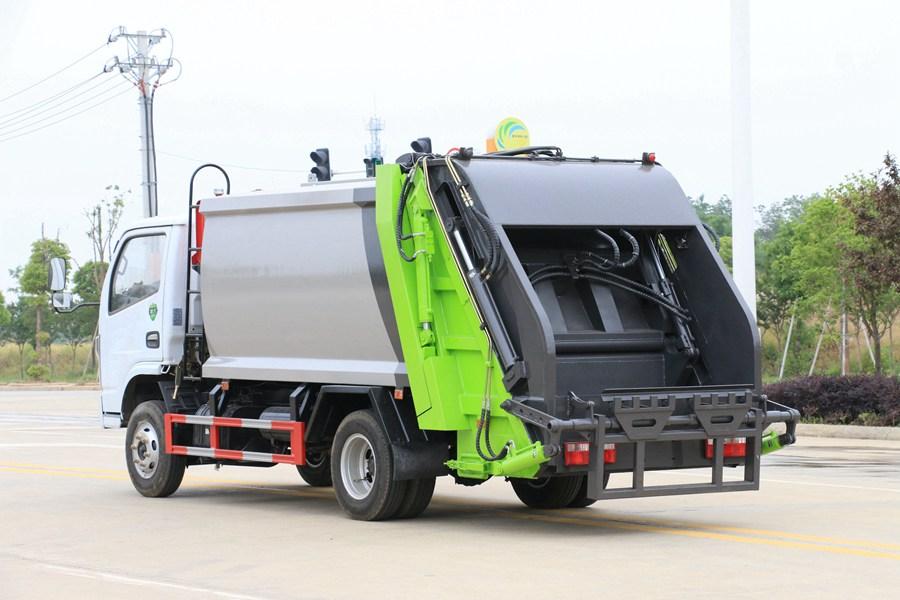 东风3吨压缩式垃圾车图片2