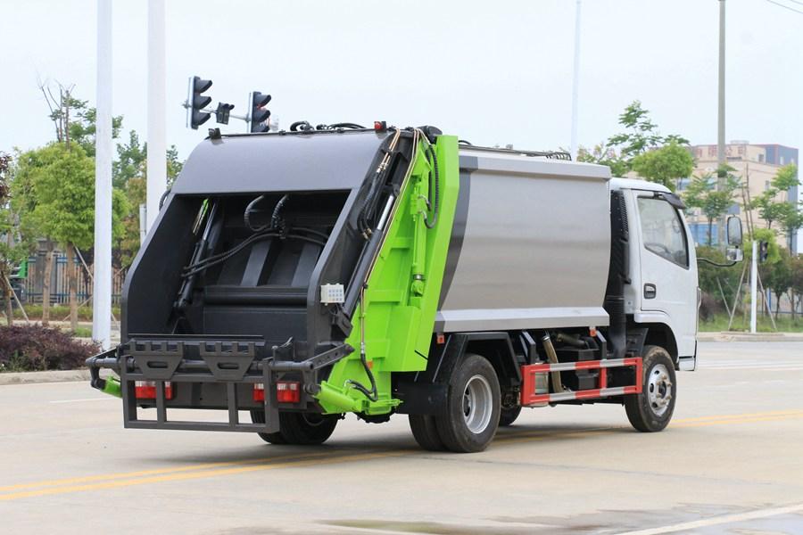 东风3吨压缩式垃圾车图片3