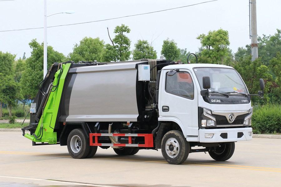 东风3吨压缩式垃圾车图片4