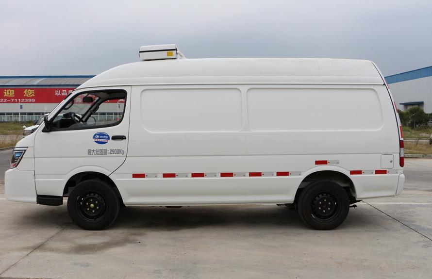 金杯小海狮3立方容量小型面包冷藏车价格 厂家