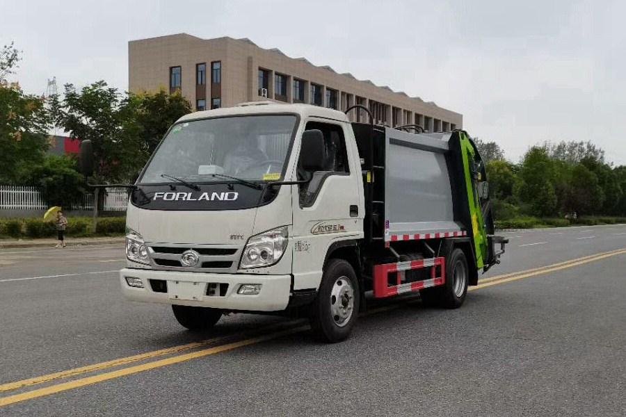 福田小卡之星3压缩式垃圾车图片1