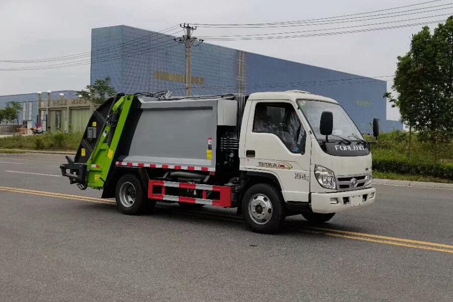 福田小卡之星3压缩式垃圾车图片4