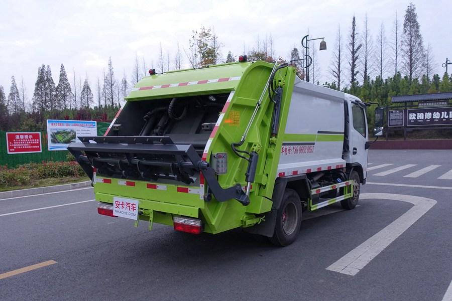 东风多利卡蓝牌压缩式垃圾车图片3