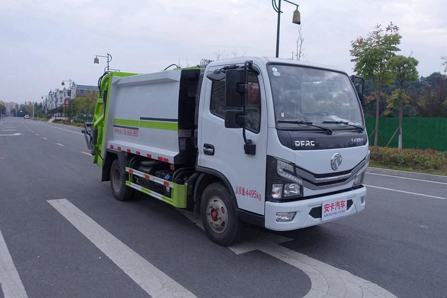 东风多利卡蓝牌压缩式垃圾车图片4