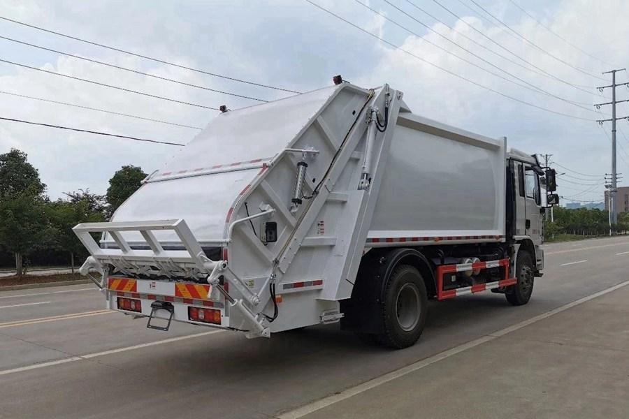 陕汽10吨压缩式垃圾车图片3