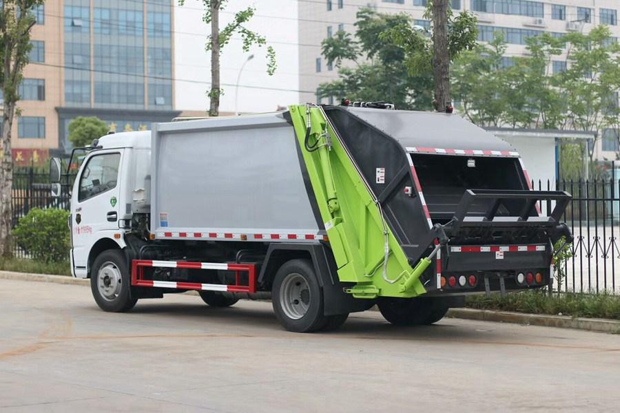 东风8方垃圾压缩车图片2