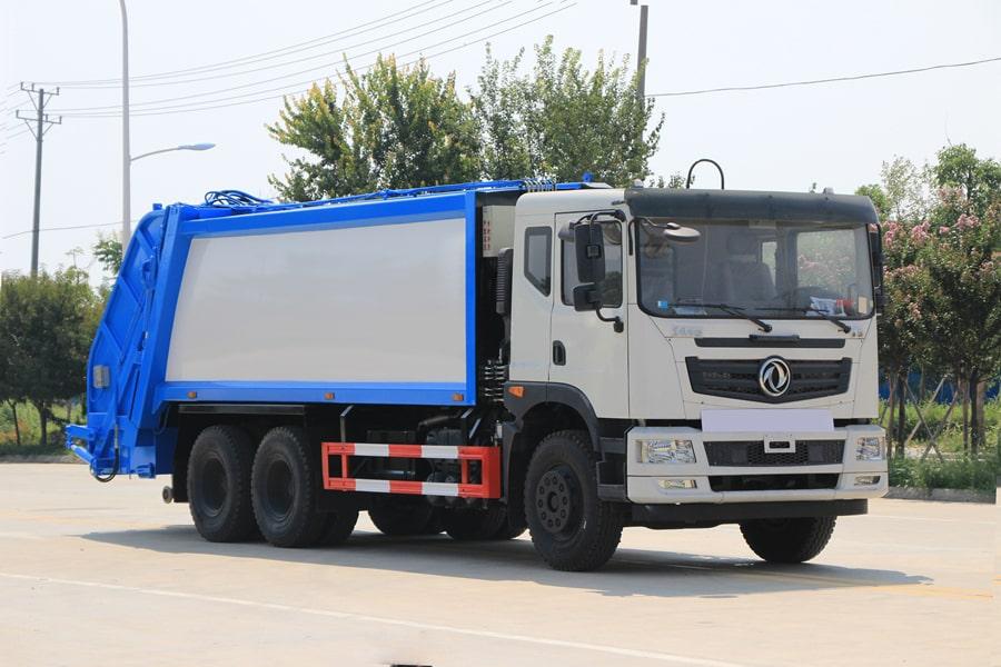东风华神25吨压缩式垃圾车图片4