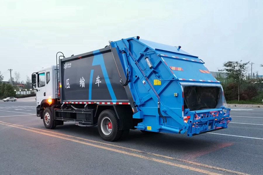 东风12方压缩式垃圾车图片2