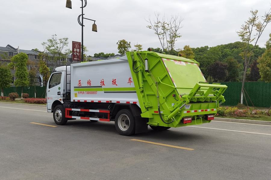 东风6吨压缩式垃圾车图片2
