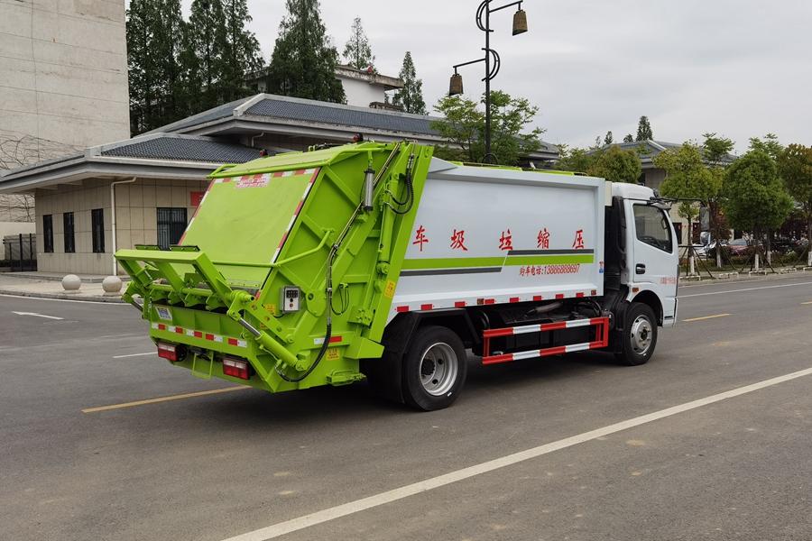 东风6吨压缩式垃圾车图片3