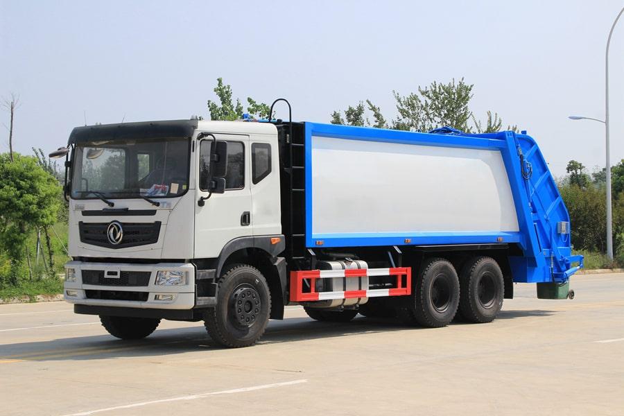 东风华神25吨压缩式垃圾车图片1