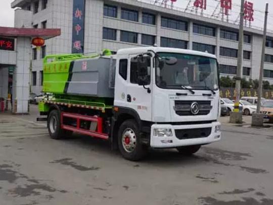 D9东风10方12方清洗吸污车