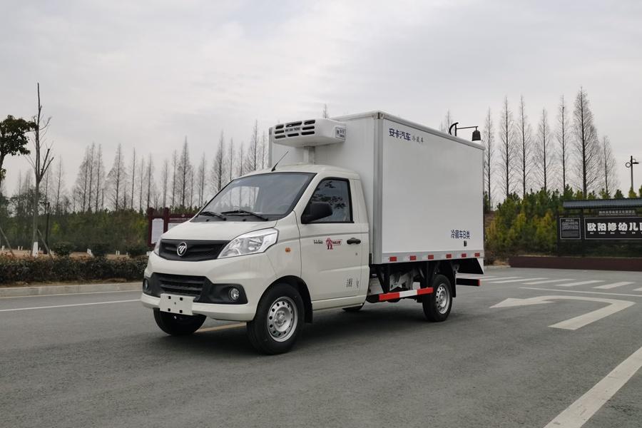 上海最经济实惠冷藏车型推荐:2.9米福田祥菱v1冷藏车