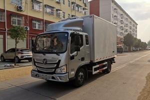 上海福田欧马可S3排半3.7米冷藏车