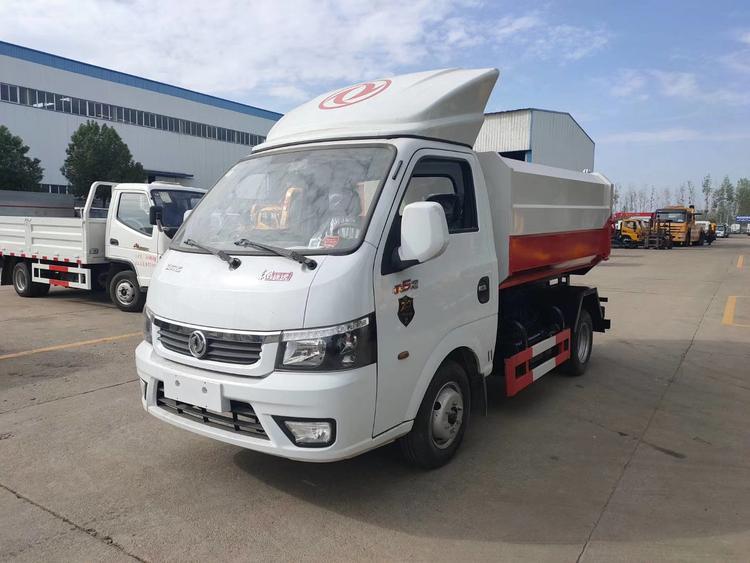 贵州东风途逸2立方挂桶垃圾车