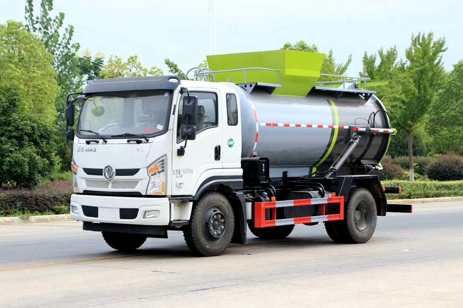 贵州东风D3L 8.5立方餐厨垃圾车