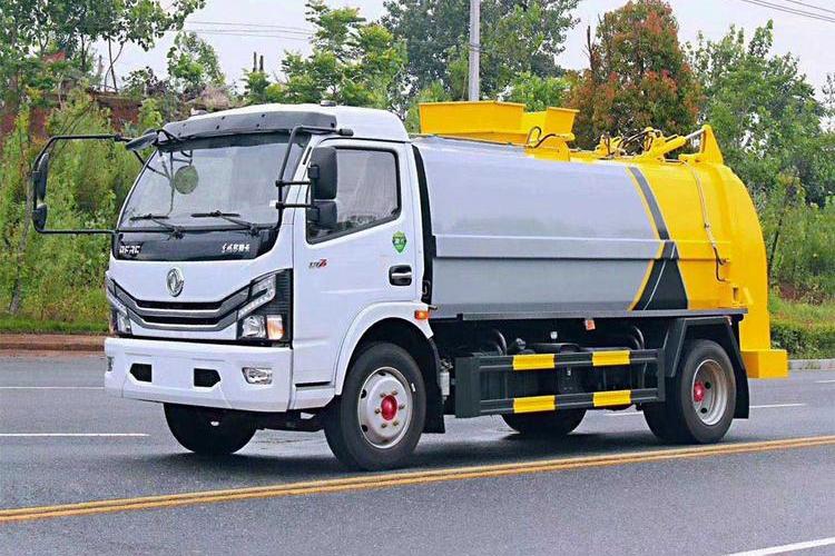 贵州东风D7多利卡7立方餐厨垃圾车