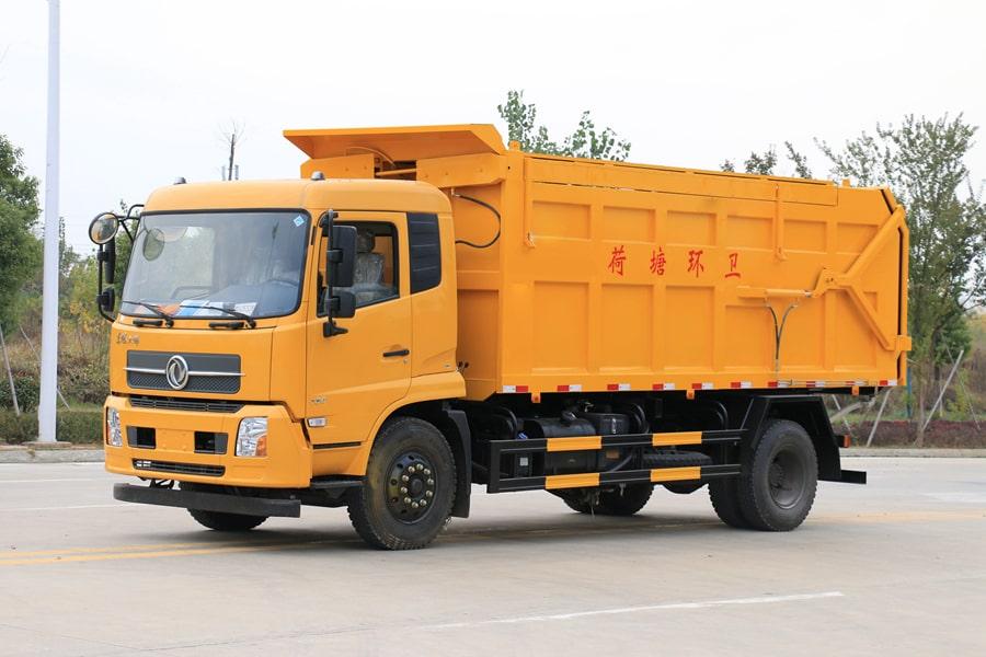 长治东风天锦15立方国六压缩式对接垃圾车