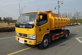 贵州东风多利卡4方国六污泥自卸垃圾车