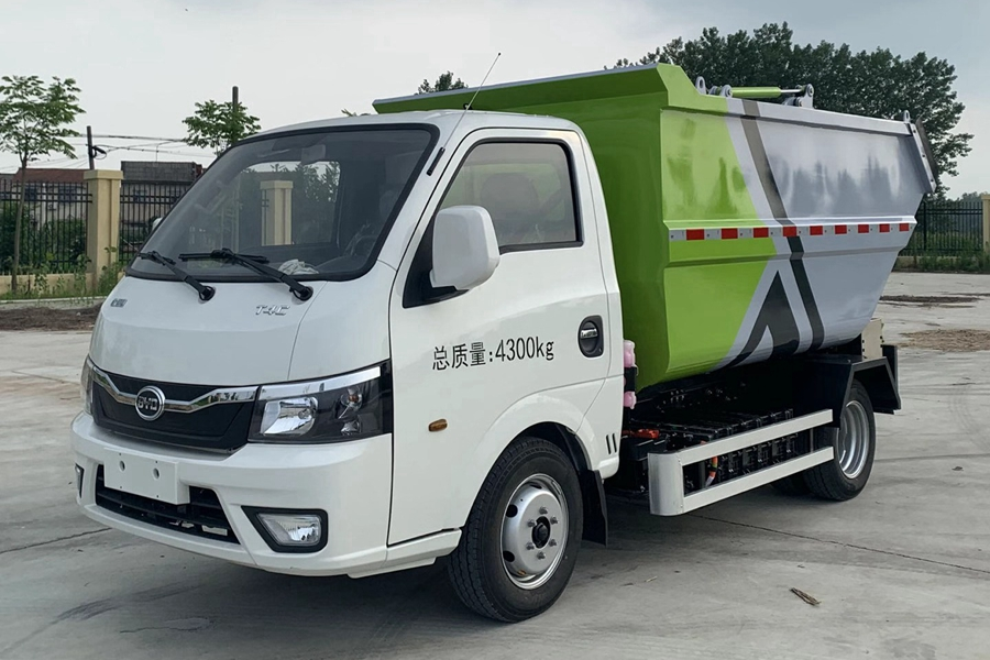 长治比亚迪3方纯电动无泄漏垃圾车