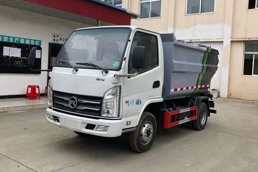 长治凯马5立方无泄漏国六垃圾车