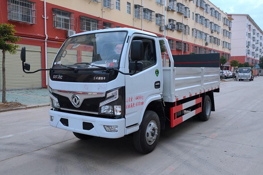 贵州东风多利卡桶装垃圾运输车