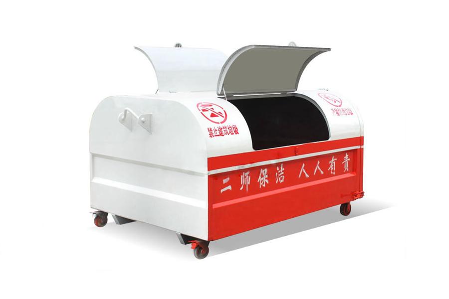 贵州3立方勾臂垃圾箱