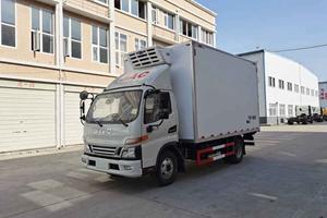 JAC骏铃V6国六云内150马力冷藏车