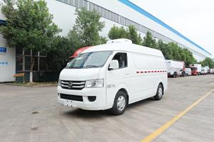国六160马力福田G7疫苗药品面包冷藏车