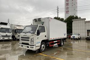 江铃顺达4.2米窄体冷藏车价格 厂家