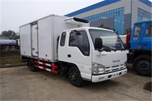 五十铃100P国六4.2米冷藏车价格 厂家