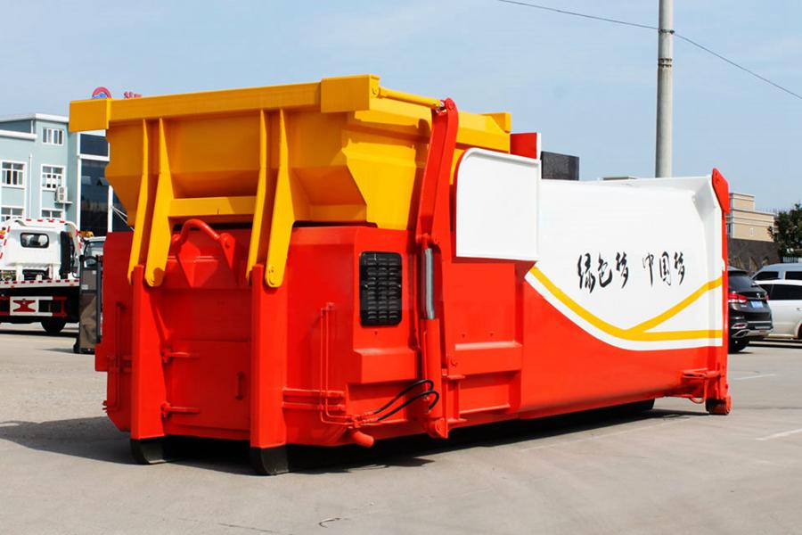 贵州16立方压缩式移动垃圾箱