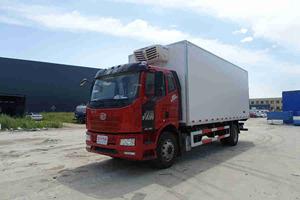 国六解放J6L 6.8米220马力平顶冷藏车价格|厂家