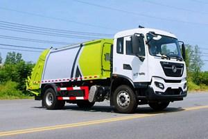 东风天锦18吨压缩式垃圾车