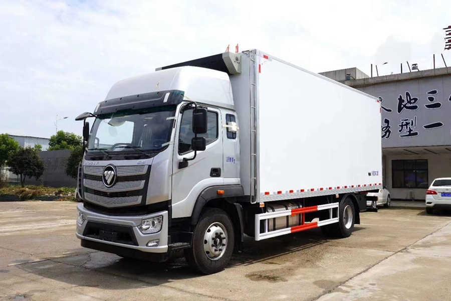 福田欧航欧马可7.7米大型冷藏车厂家价格