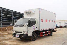 江铃宽体4.2米冷藏车
