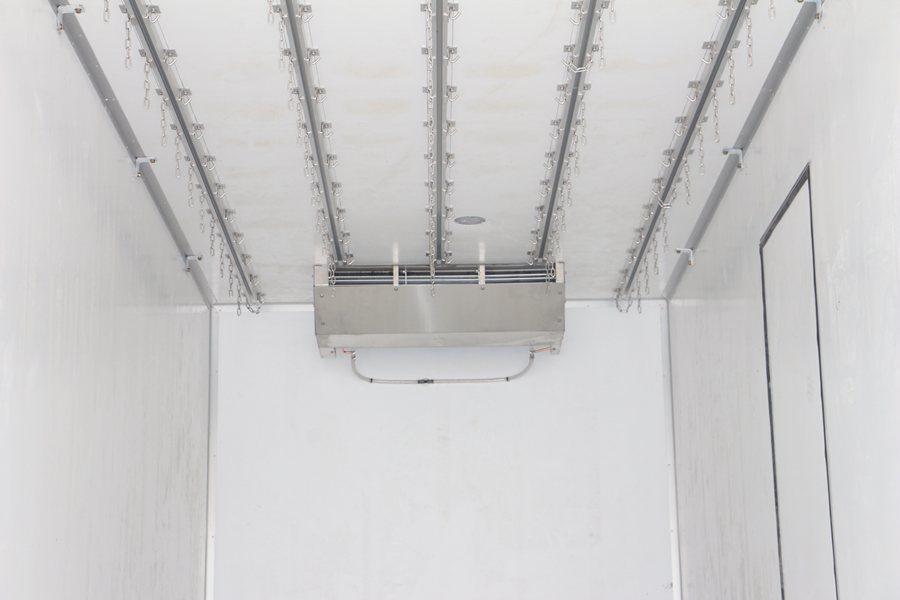 福田欧曼EST9.6米冷藏车蒸发器图片