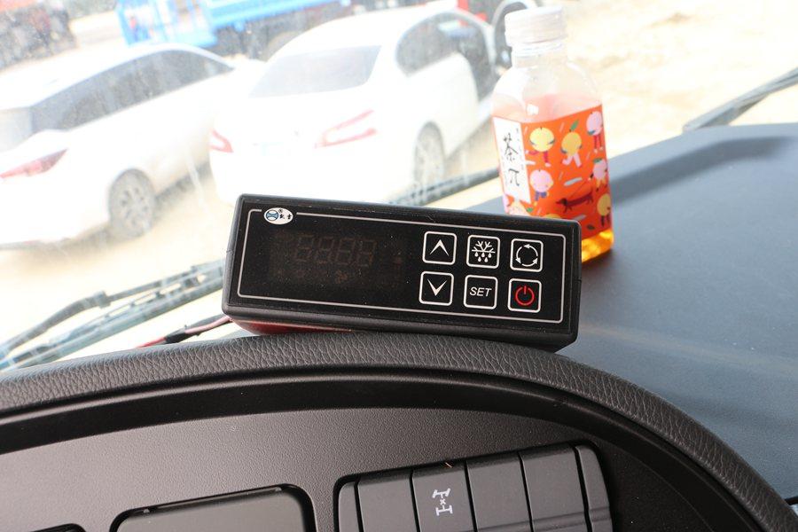 福田欧曼EST9.6米冷藏车智能温控盒图片
