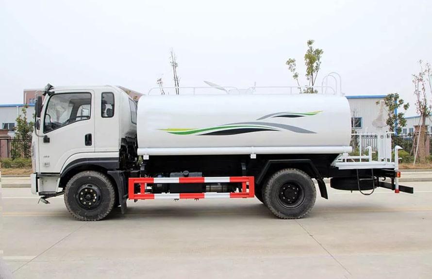 东风新款12吨洒水车整车图片B