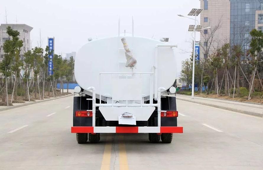 东风新款12吨洒水车整车图片D