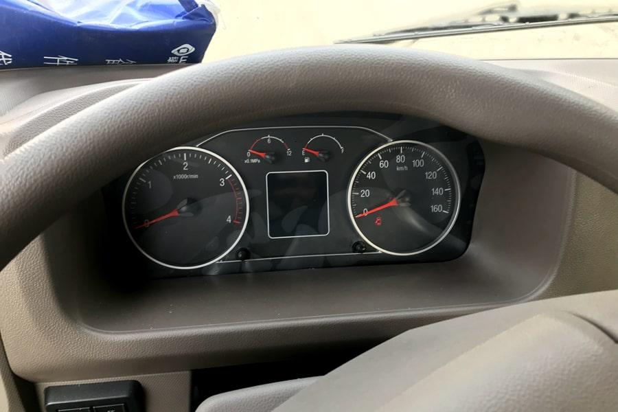 欧马可S3蓝牌清障车仪表盘图片