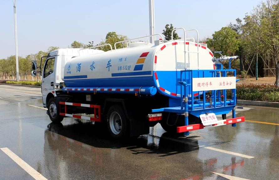 东风8吨洒水车整车图片C