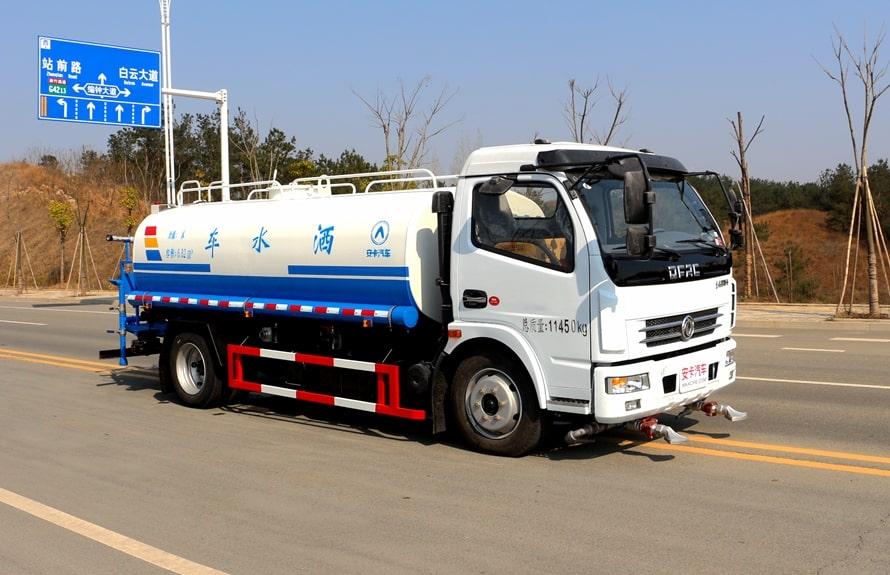 东风8吨洒水车整车图片F