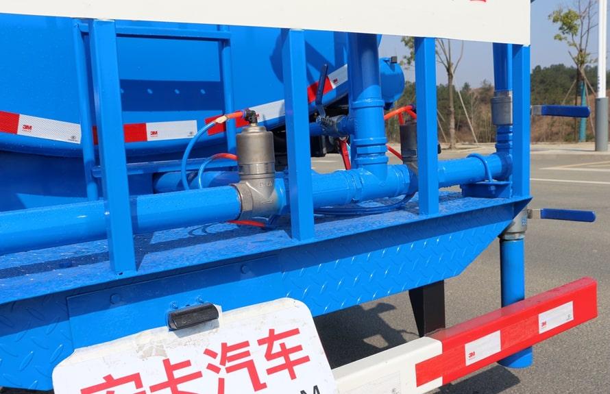 东风多利卡8吨洒水车上装图片B