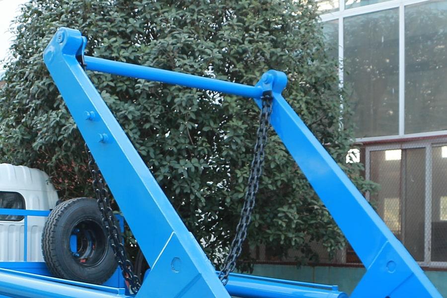 东风5方摆臂式垃圾车上装图片