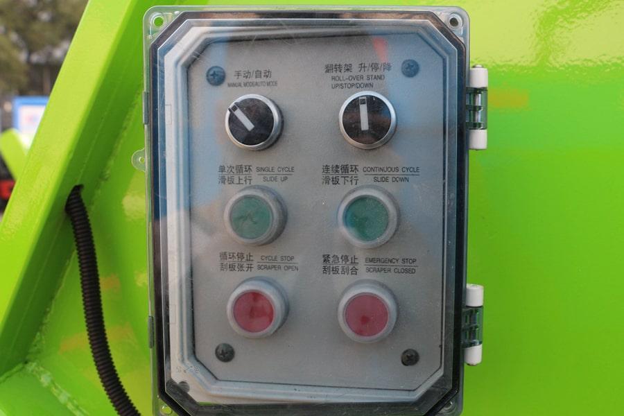 东风3吨压缩式垃圾车自动控制按钮图片