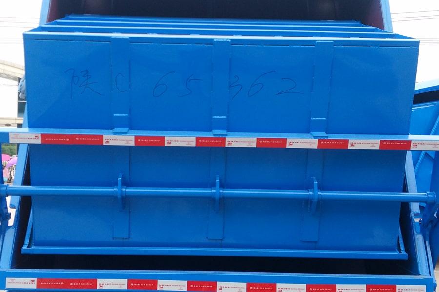陕汽8吨压缩垃圾车选装部分图片