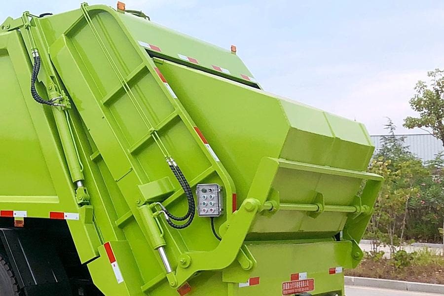 东风8吨压缩垃圾车上装选装部分图片