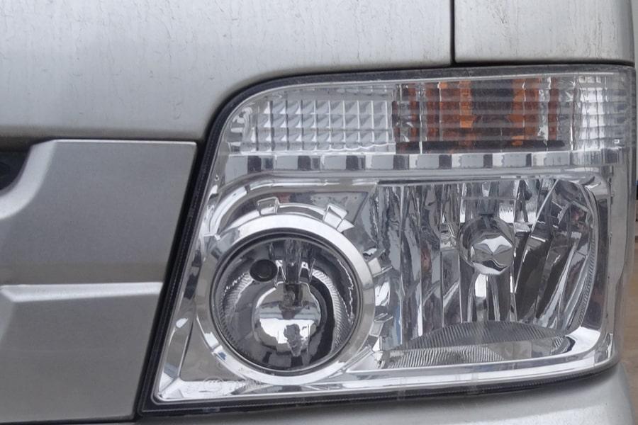 福田3方勾臂式垃圾车左侧大灯图片