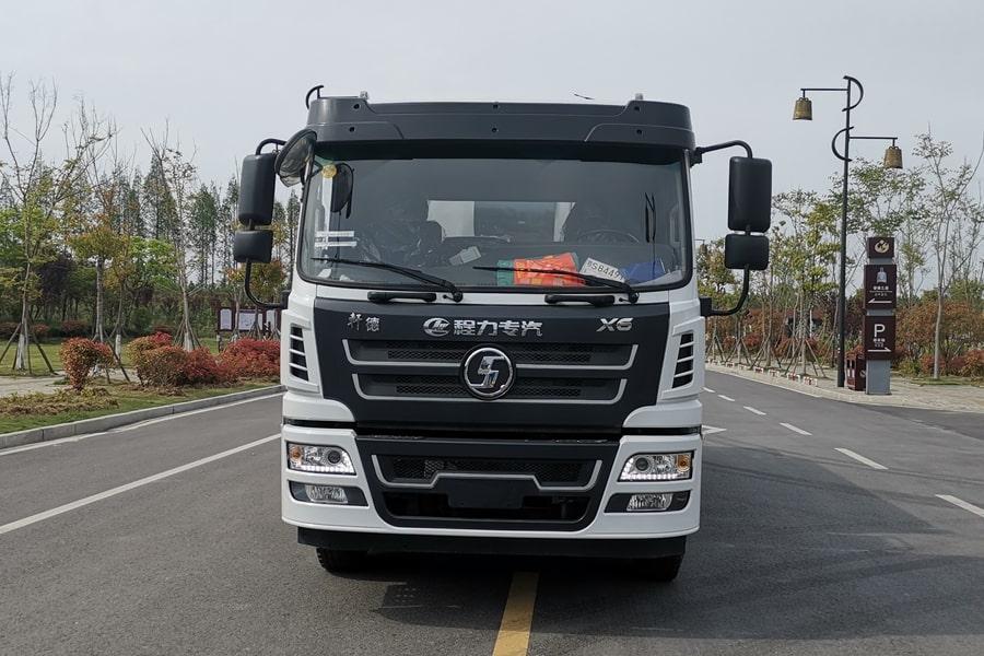 陕汽12吨沥青洒布车正前图片